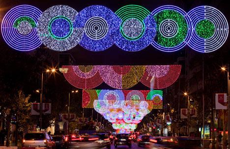 festive lighting. idea festive lighting v