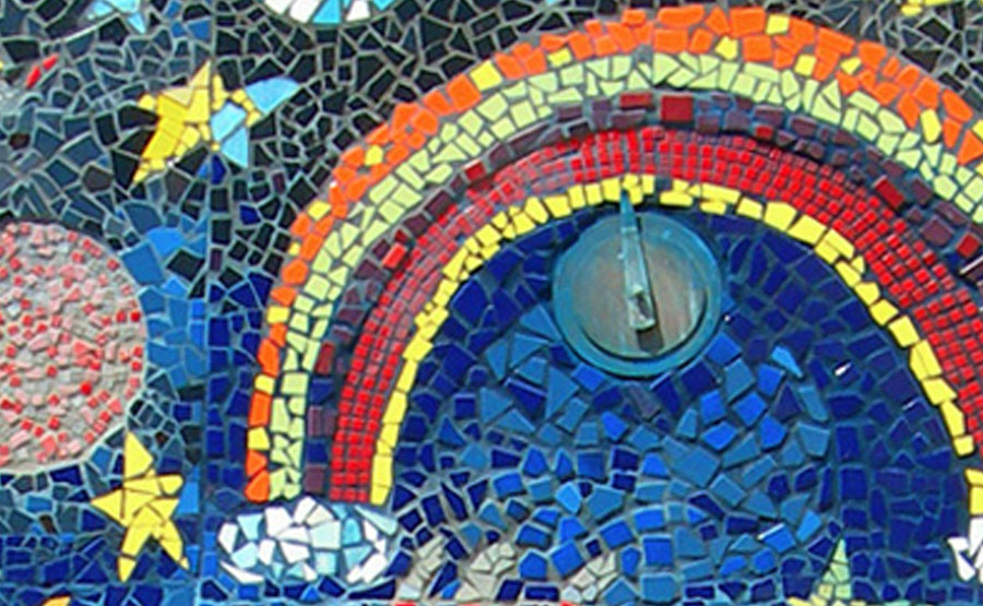 Project 2005 Hillcrest Elementary School Mosaic Tile Mural