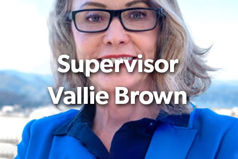 Supervisor Vallie Brown