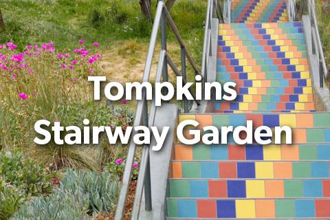 Tompkins Stairway Garden