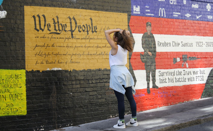 San Francisco Veterans Mural