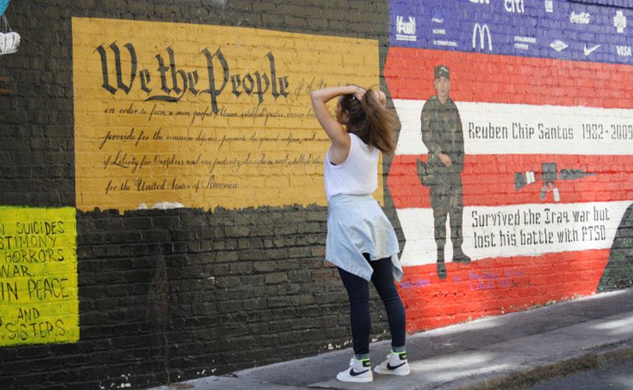San Francisco Veterans Mural