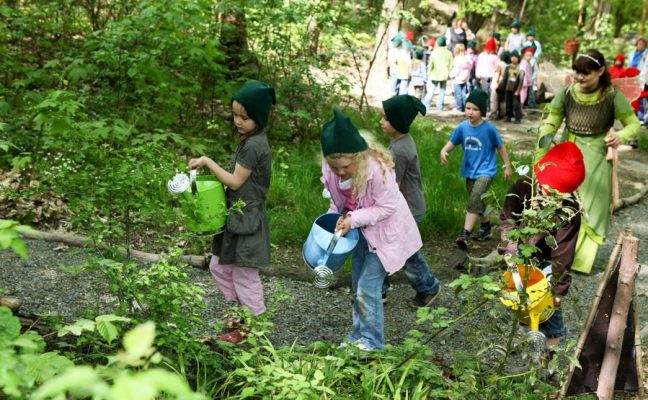 Kids in Garden Program