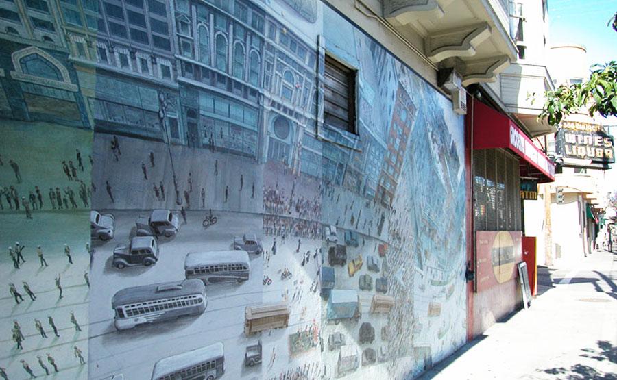 Market Street Railway Mural